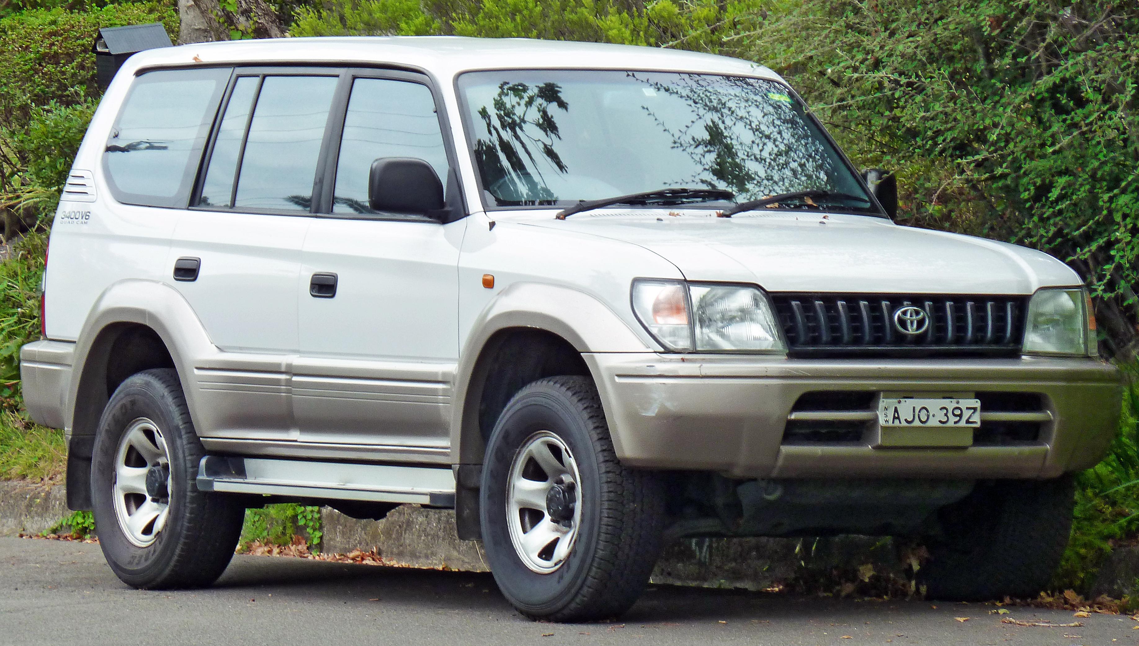 Toyota Land Cruiser Prado 1996 Photo - 1