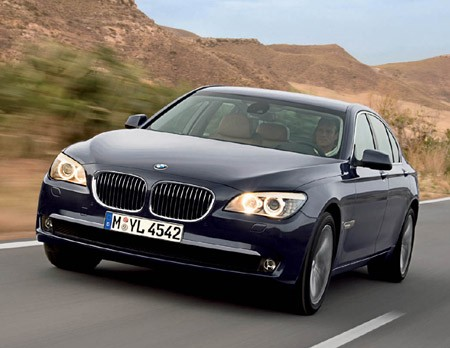 BMW 7-series 2009 photo - 1