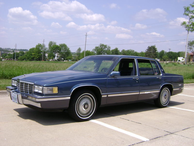 Cadillac seville 1991 photo - 1