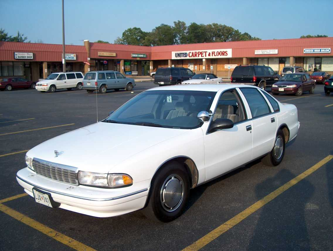 Chevrolet Caprice 1995: Review, Amazing Pictures and Images – Look ...