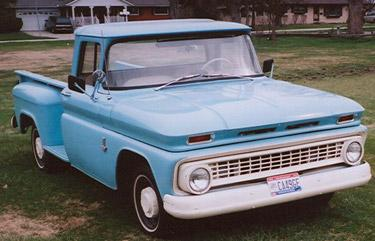 1963 Chevrolet Pickup - Information and photos - MOMENTcar