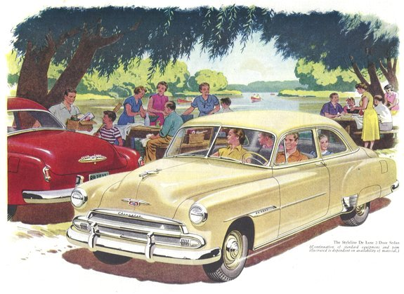 Chevrolet styleline 1951 photo - 5