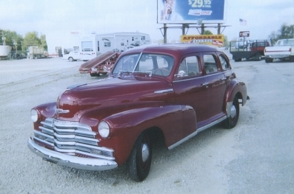 Chevrolet Stylemaster 1947 photo - 4