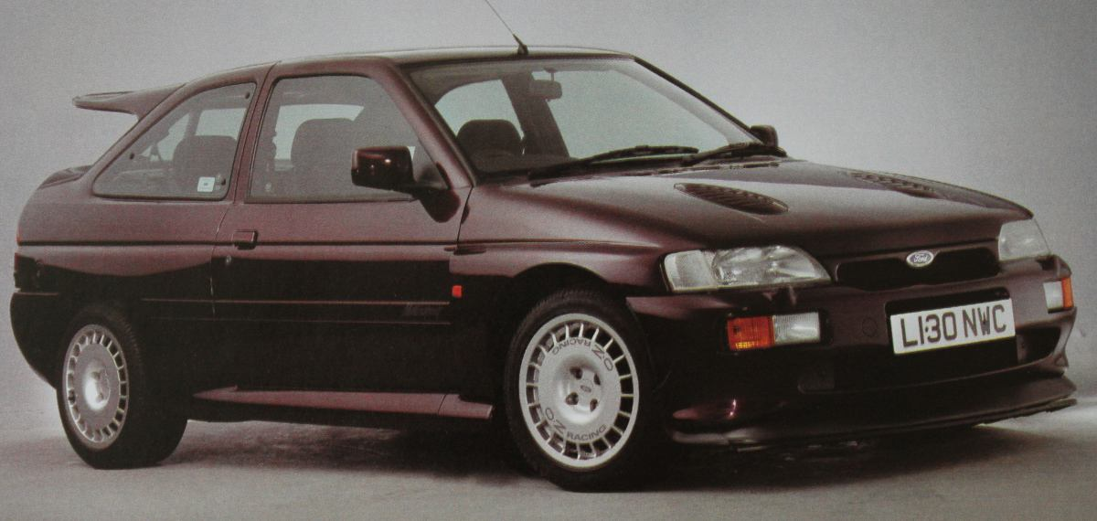 Ford escort 1992 photo - 1
