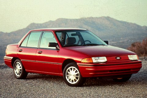 Ford escort 1992 photo - 3