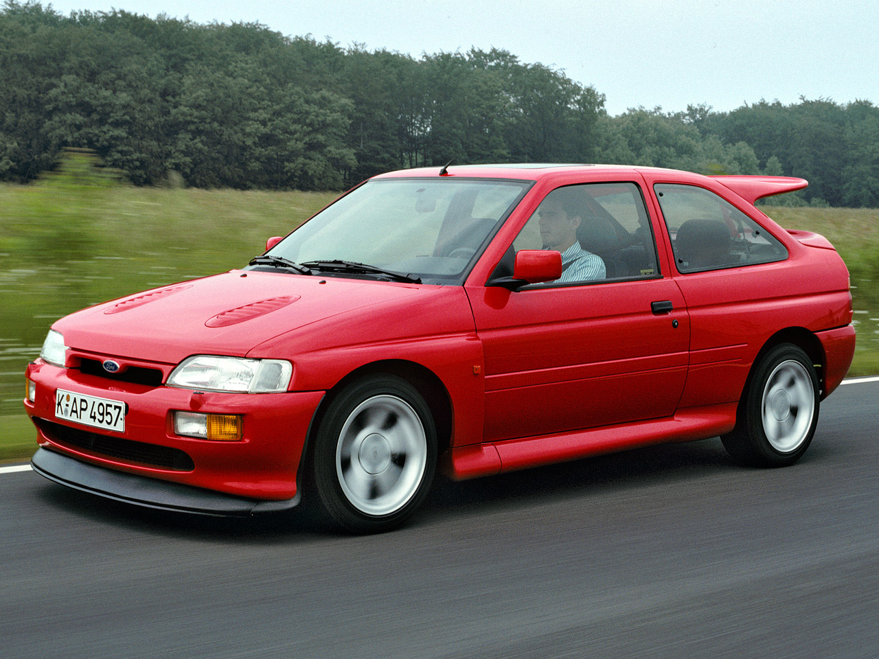 Ford escort 1992 photo - 4