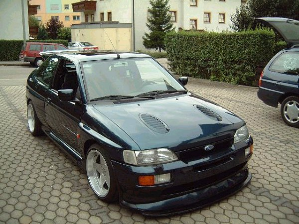 Ford escort 1992 photo - 6