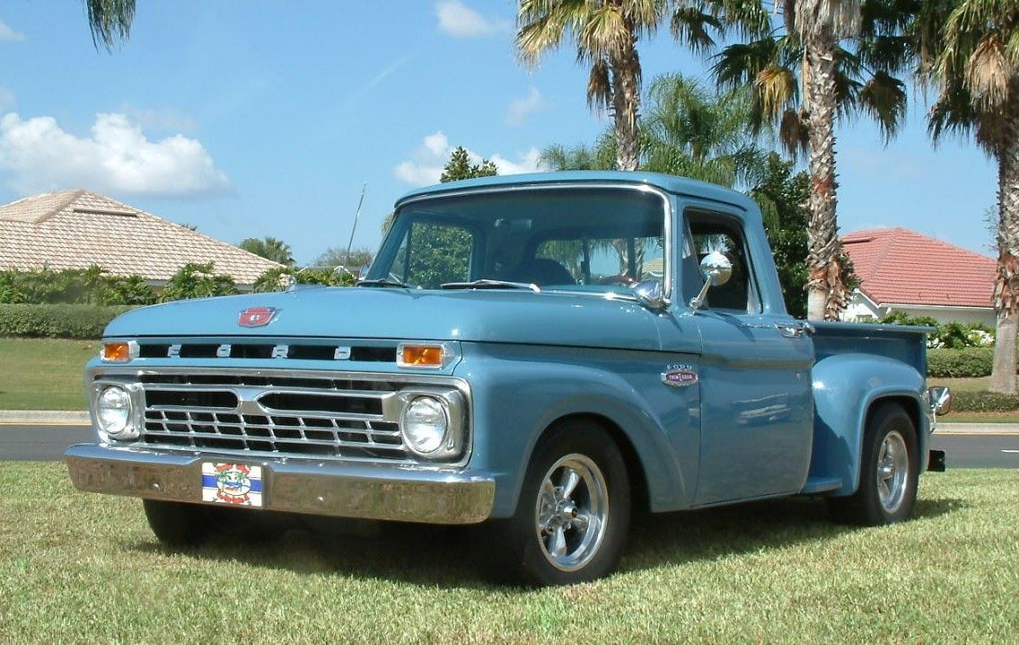 Ford f-100 1966 photo - 2