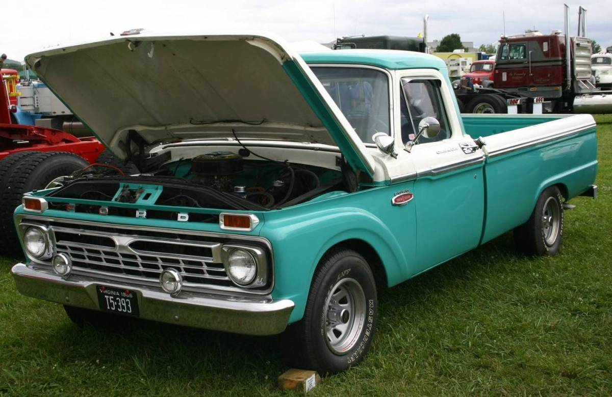 Ford f-100 1966 photo - 6