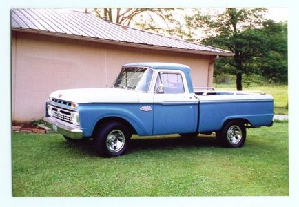 Ford f-100 1966 photo - 9