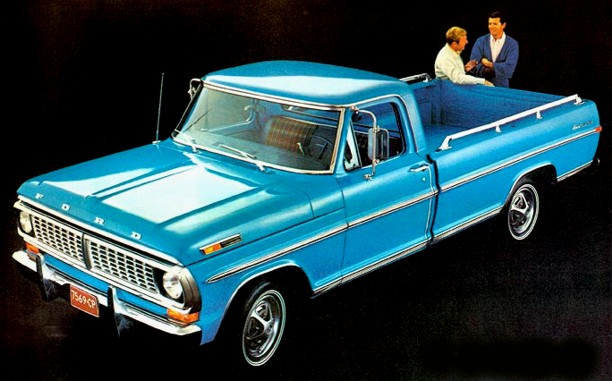 Ford f-100 1970 photo - 3