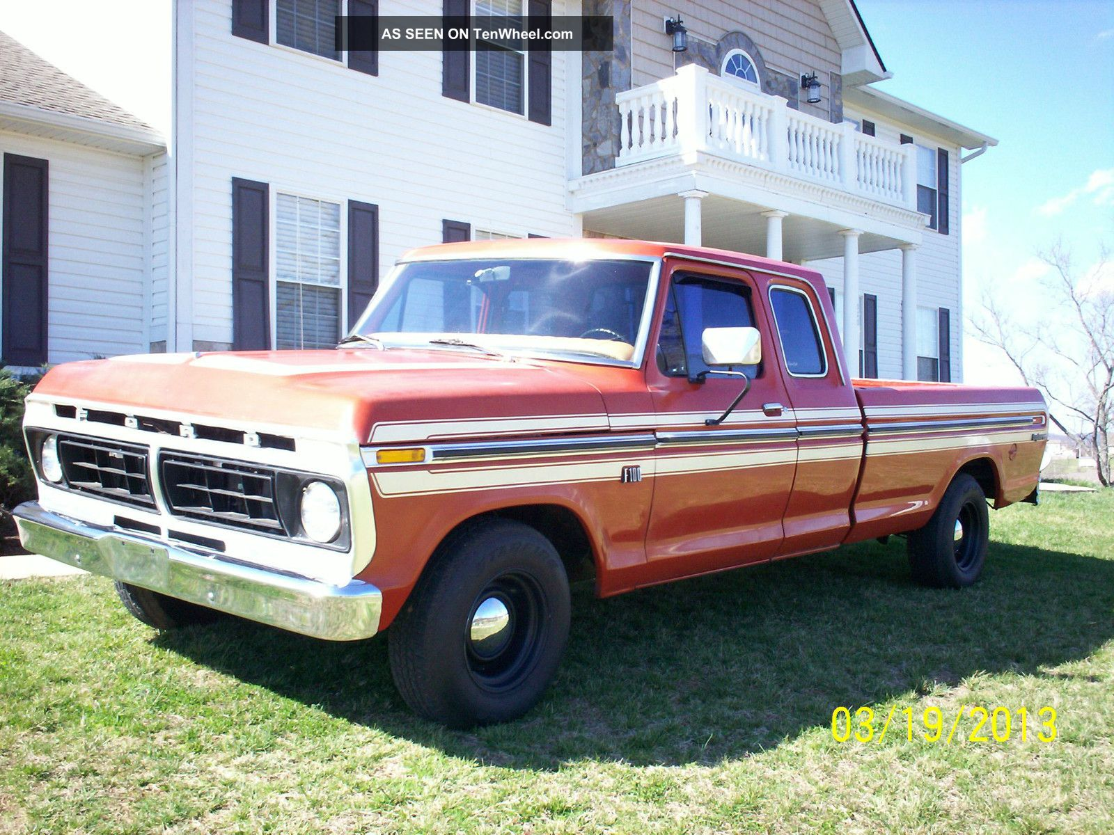 Ford F-100 1976 photo - 6