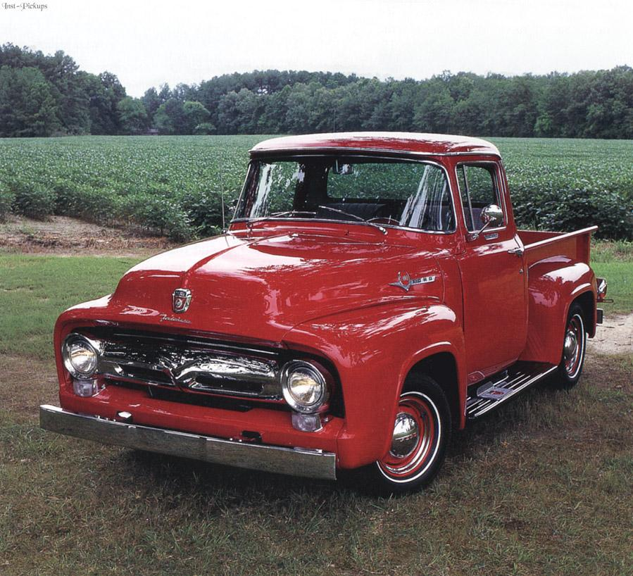 Ford f-150 1955 photo - 4