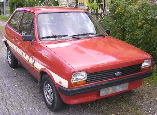 Ford Fiesta 1981 photo - 3