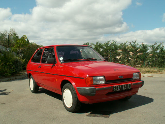 Ford fiesta 1988 photo - 2