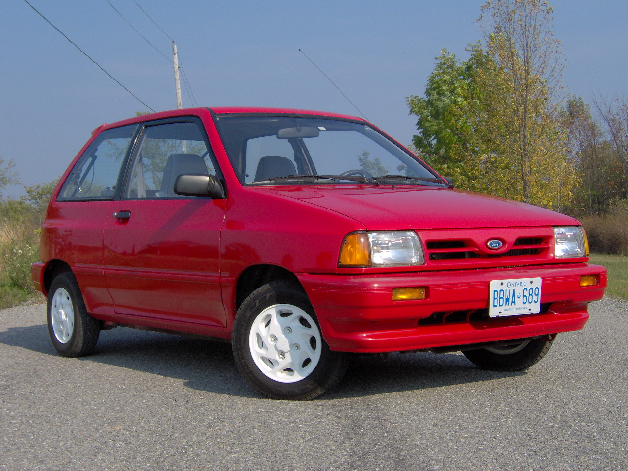 Ford focus 1988 photo - 1