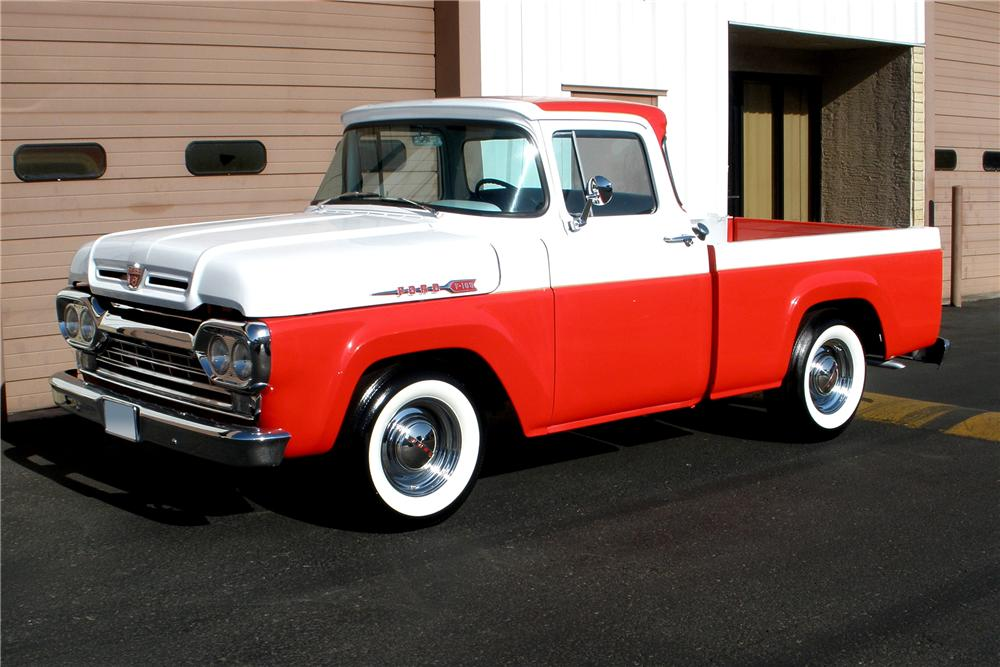 Ford Pickup 1960 photo - 7