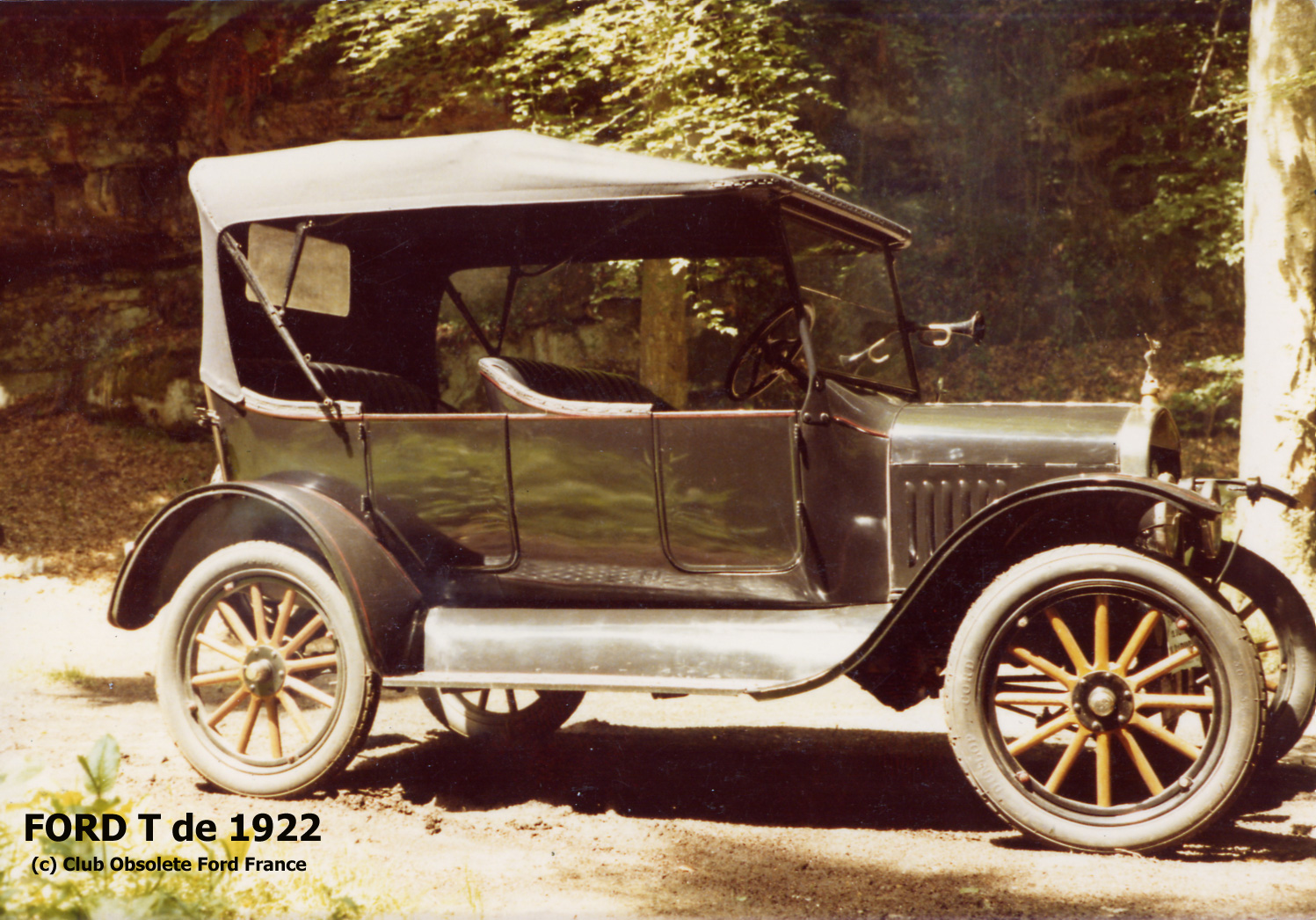 Ford T 1922 photo - 2