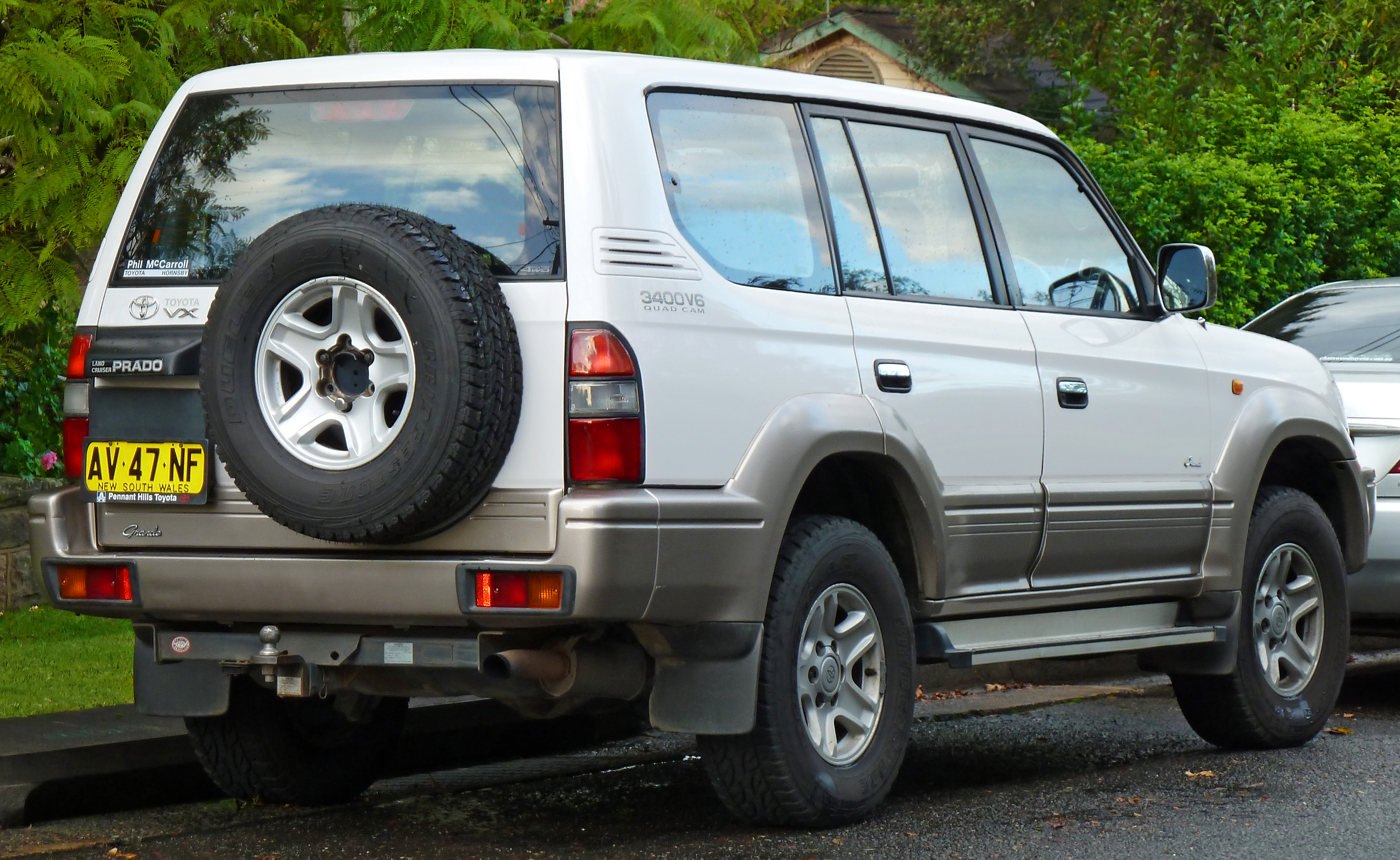 Toyota Land Cruiser Prado 2001 Review Amazing Pictures And Images Photo 2